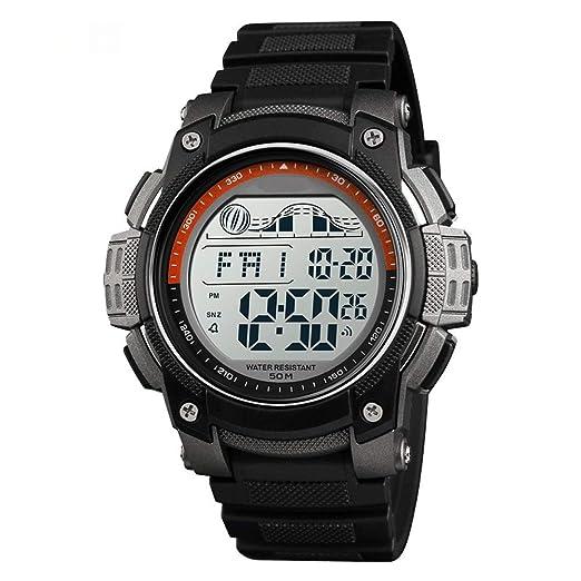 LBYMYB - Reloj de Pulsera para Hombre, Resistente al Agua ...