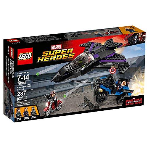 LEGO Marvel Super Heroes Black Panther Pursuit 76047 Toy