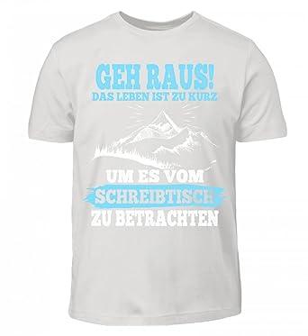 Hochwertiges Kinder T Shirt Berge Shirt Bergsteiger Wandern