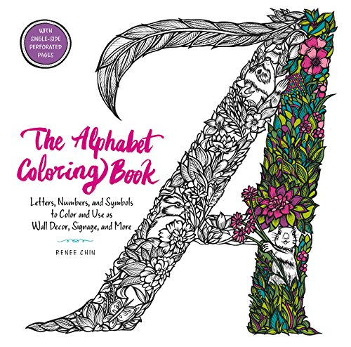 Amazon.com: The Alphabet Coloring Book: Letters, Numbers ...