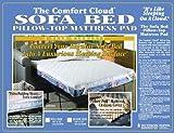 "Foam Sofabed Pad - Full (White) (2""H x 54""W x 72""D)"