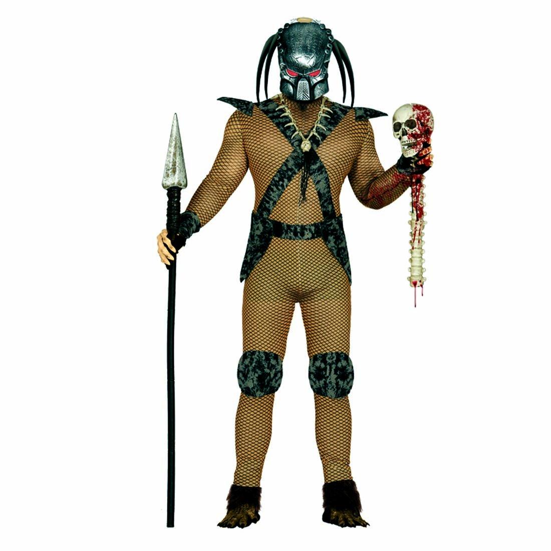 Amakando Guerrero de película Disfraz de Alien L 52/54 Ropa ...