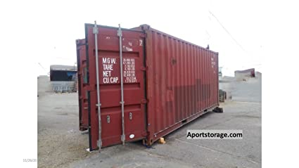 Amazoncom 20ft Used Steel Storage Container Home Improvement
