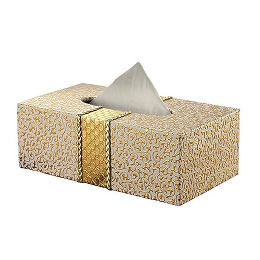 LSXLSD Caja de pañuelos Sala de Estar Mesa de Centro Caja de ...