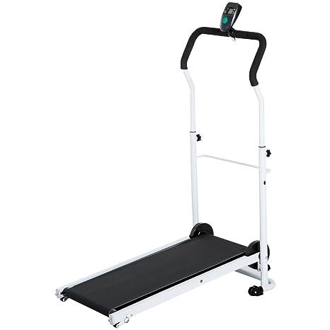 HOMCOM Tapis Roulant magnético Plegable Fitness Entrenamiento a ...