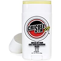 Crisbee Stik Cast Iron and Carbon Steel Seasoning - Family Made in USA - The Cast Iron Seasoning Oil & Conditioner Preferred by Experts - Maintain a Cleaner Non-Stick Skillet
