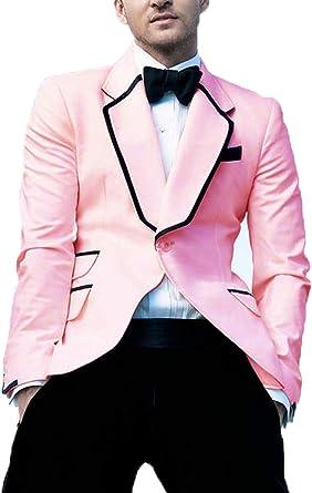 Tuxedo Jackets Men White One button Slim Fit  Blazer Wedding Groom Party wear Dinner Coat