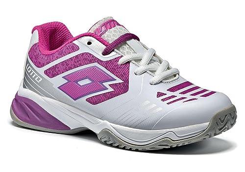 Lotto Zapatillas de Tenis Para Niño, Color Blanco, Talla 34 EU