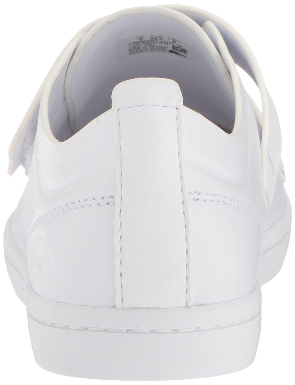 Lacoste Women's Straightset Strap 118 1 Caw Sneaker B071KB4MLS 9.5 B(M) US|White/White