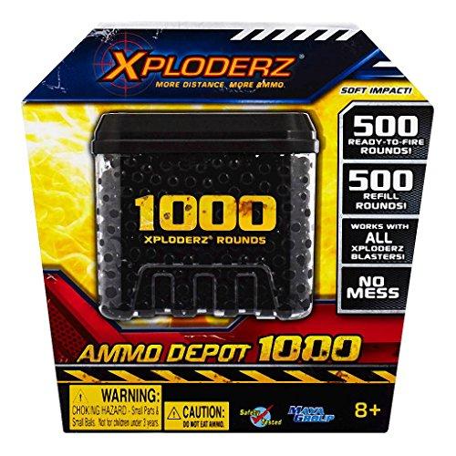 Xploderz Ammo Depot 1000 (Black)