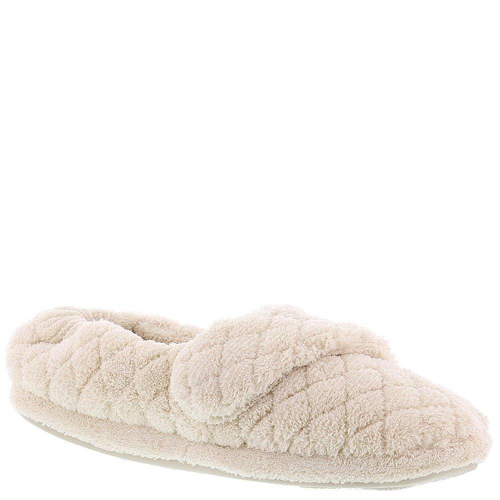 Acorn Womens Spa Wrap Slipper Natural Size M