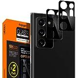 Spigen Camera Lens Screen Protector [Glas.tR Optik] Tempered Glass Designed for Galaxy Note 20 Ultra [Black] - Case Friendly