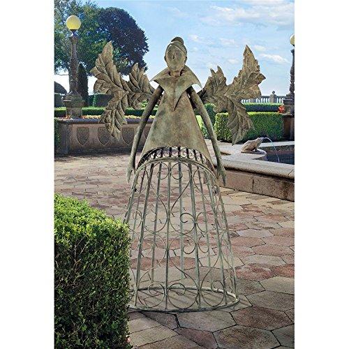 Design Toscano Tempest The Metal Garden Trellis Fairy ()