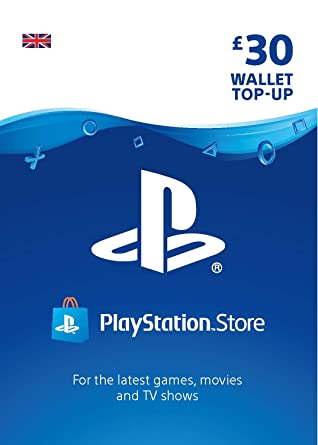 Playstation Psn Card 30 Gbp Wallet Top Up Psn Download Code Uk