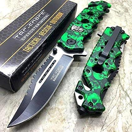 Amazon.com: Cuchillo de bolsillo con diseño de ...