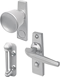 Prime-Line Products K 5000 Tulip Knob Latch Set for Screen or Storm Door, Aluminum