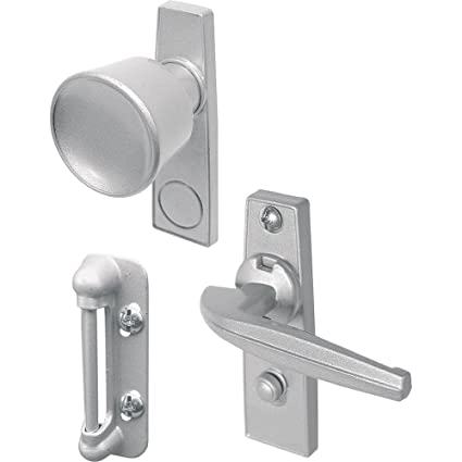 Prime Line Products K 5000 Tulip Knob Latch Set For Screen Or Storm Door,