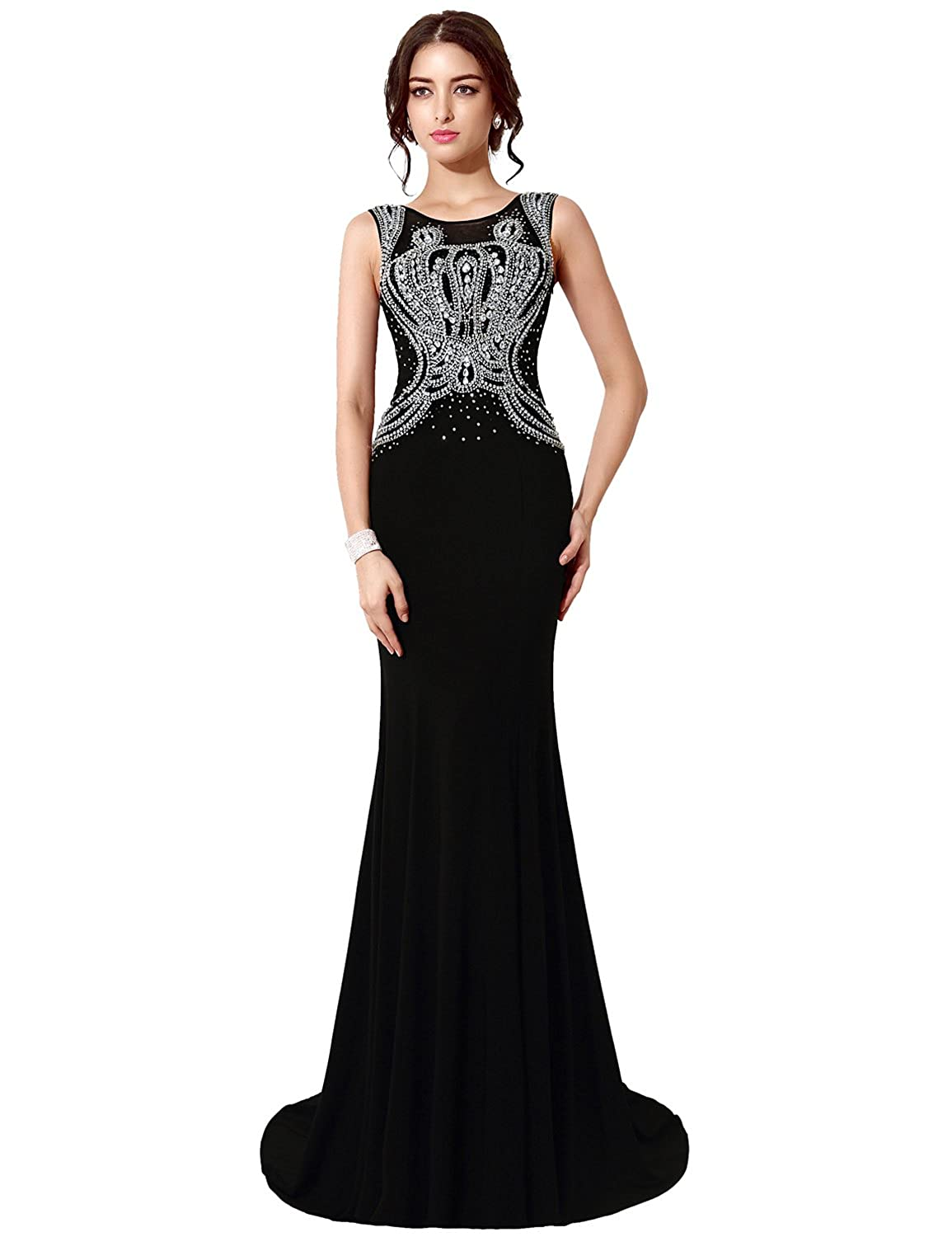 Favebridal Women's Long Evening Formal Dresses XU034