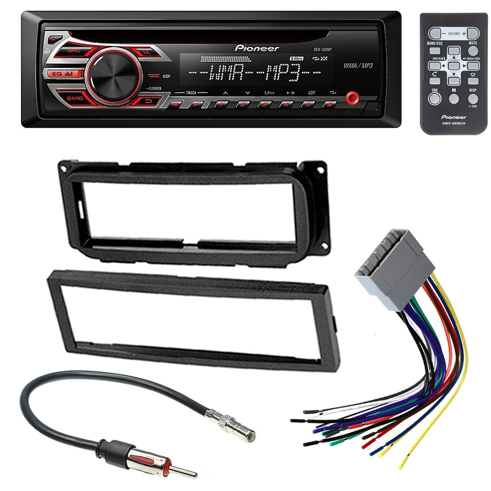 Best Rated In Car Audio Video Dash Mounting Kits Helpful Honda Civic Wiring Harness Melted Dodge Chrysler Jeep 2002 2007 Stereo Radio Installation Kit W