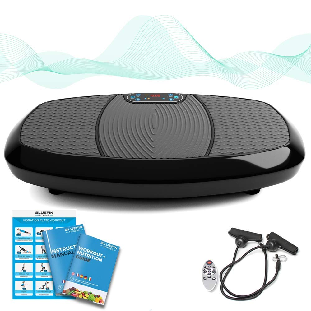 Amazon.com : Bluefin Fitness Dual Motor 3D Vibration ...