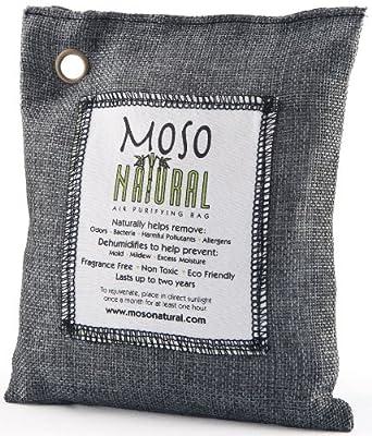 Moso Natural - Air Purifying Bag Fragrance Free Charcoal