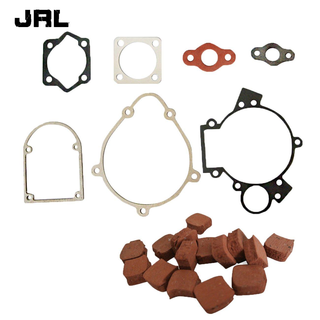jrl 15 x cuadrado juego de embrague y juego de juntas para 80 cc motorizada bicicleta Bike motor motor Naning Power