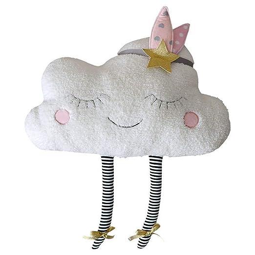 Dorical Adorable Nube Almohada Cojines Almohada Niños Felpa ...