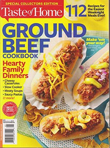 Taste of Home Ground Beef Cookbook Magazine 2015