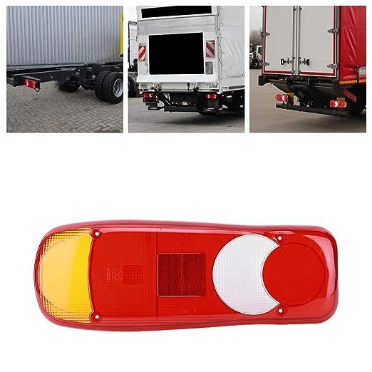 EBTOOLS Couvercle de feu arri/ère de camion 1PC Stop Reverse Reverse Light Feux arri/ère feux de la lampe couvercle Shell pour remorque camion