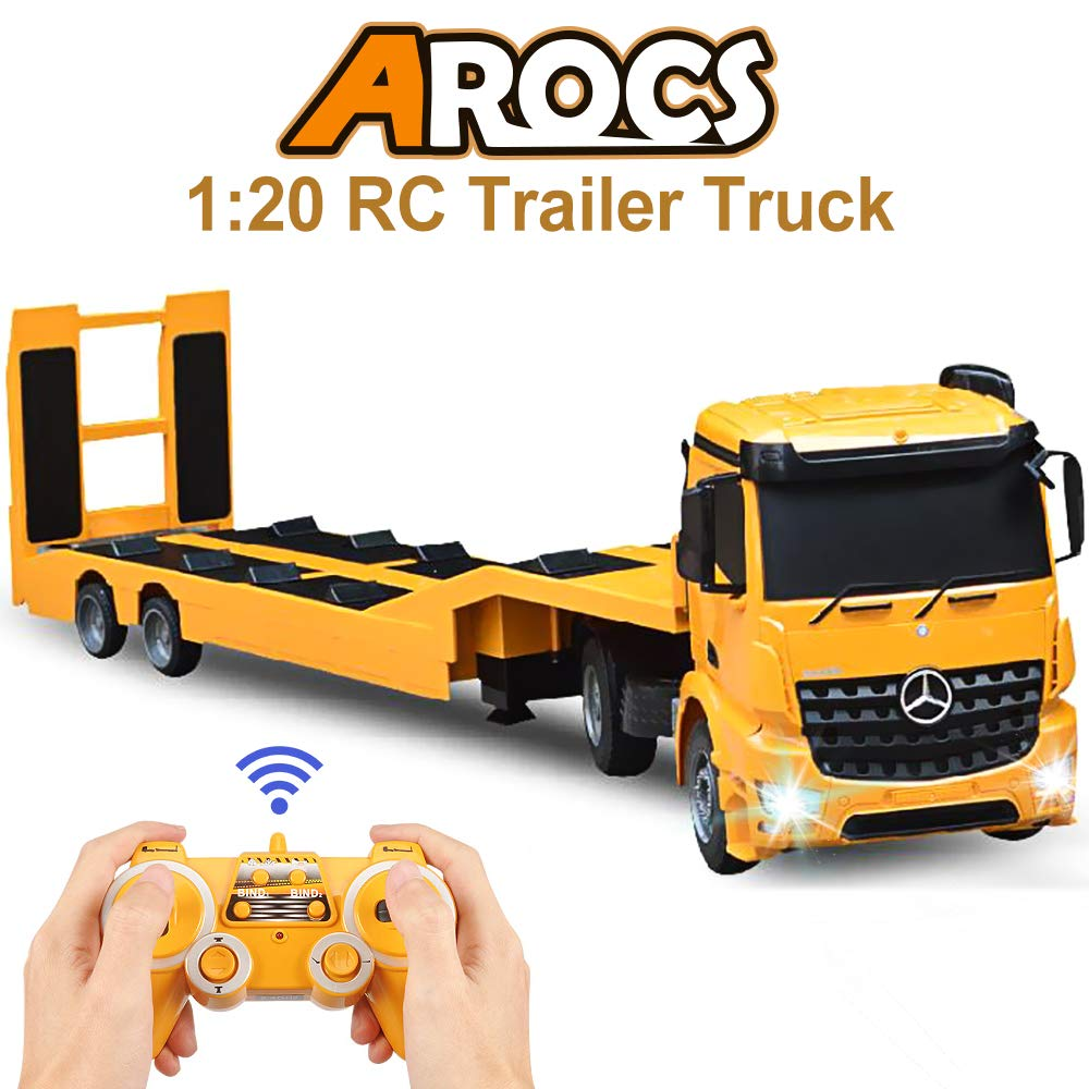 Best RC Semi Trucks Reviews: Get Your Kid a Cool Big Rig 3