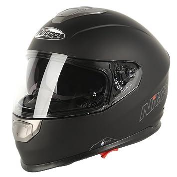 Nitro Casco Moto NP-1100 APEX, Negro Mate, XS