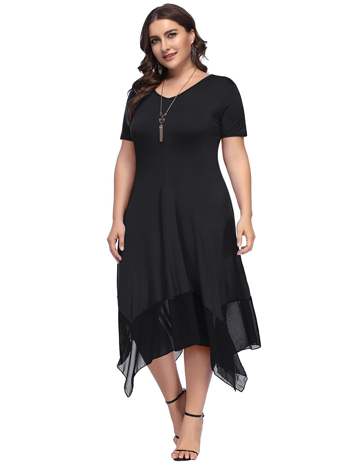 c56baee2686 Top 10 wholesale Plus Size Short Sleeve Summer Dresses - Chinabrands.com