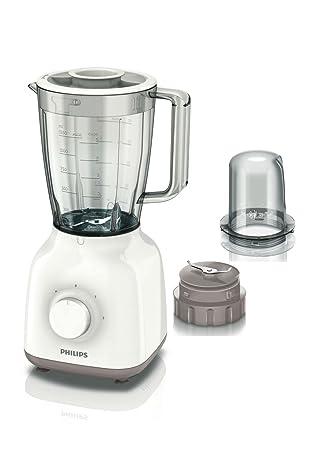 Philips Daily Collection HR2102/00 - Licuadora (1,5 L, Batidora de vaso, Beige, Blanco, 1 m, Listo, 400 W): Amazon.es: Hogar