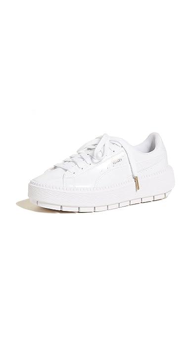 6022a627148d15 PUMA Women s Basket Platform Trace Sneakers