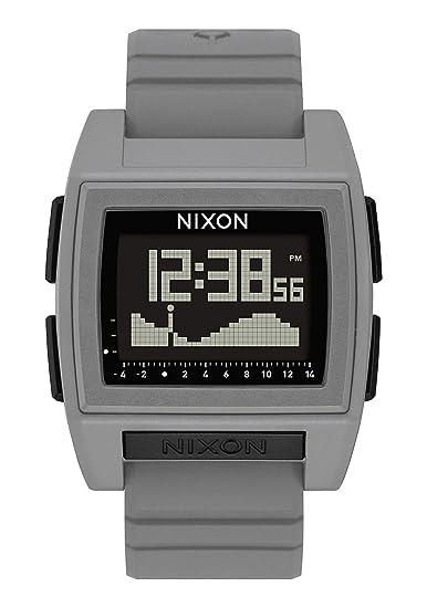 Nixon Reloj Hombre de Digital con Correa en Silicona A1212-145-00: Amazon.es: Relojes