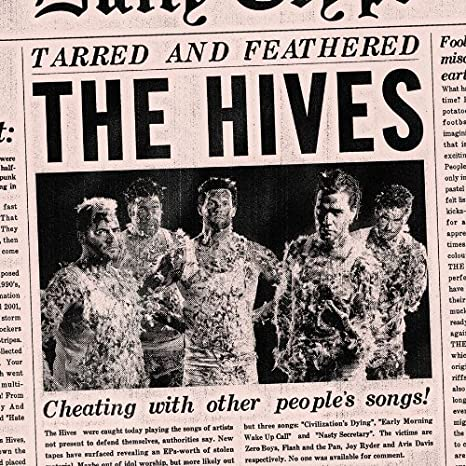 the hives tarred and feathered