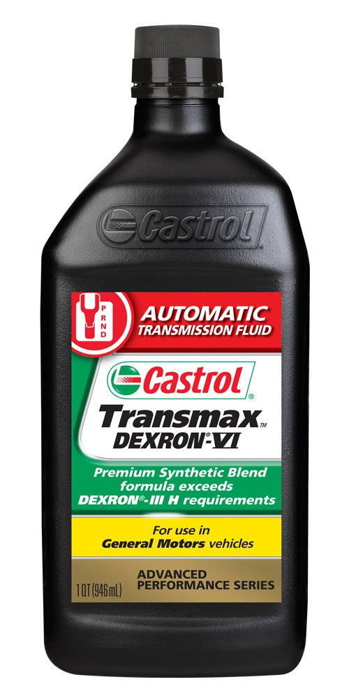 Castrol 6822 Transmax Dexron VI ATF, 1 Quart, Pack of 6