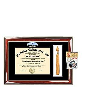 Amazon.com : University Arkansas Fort Smith Tassel Diploma Frame ...