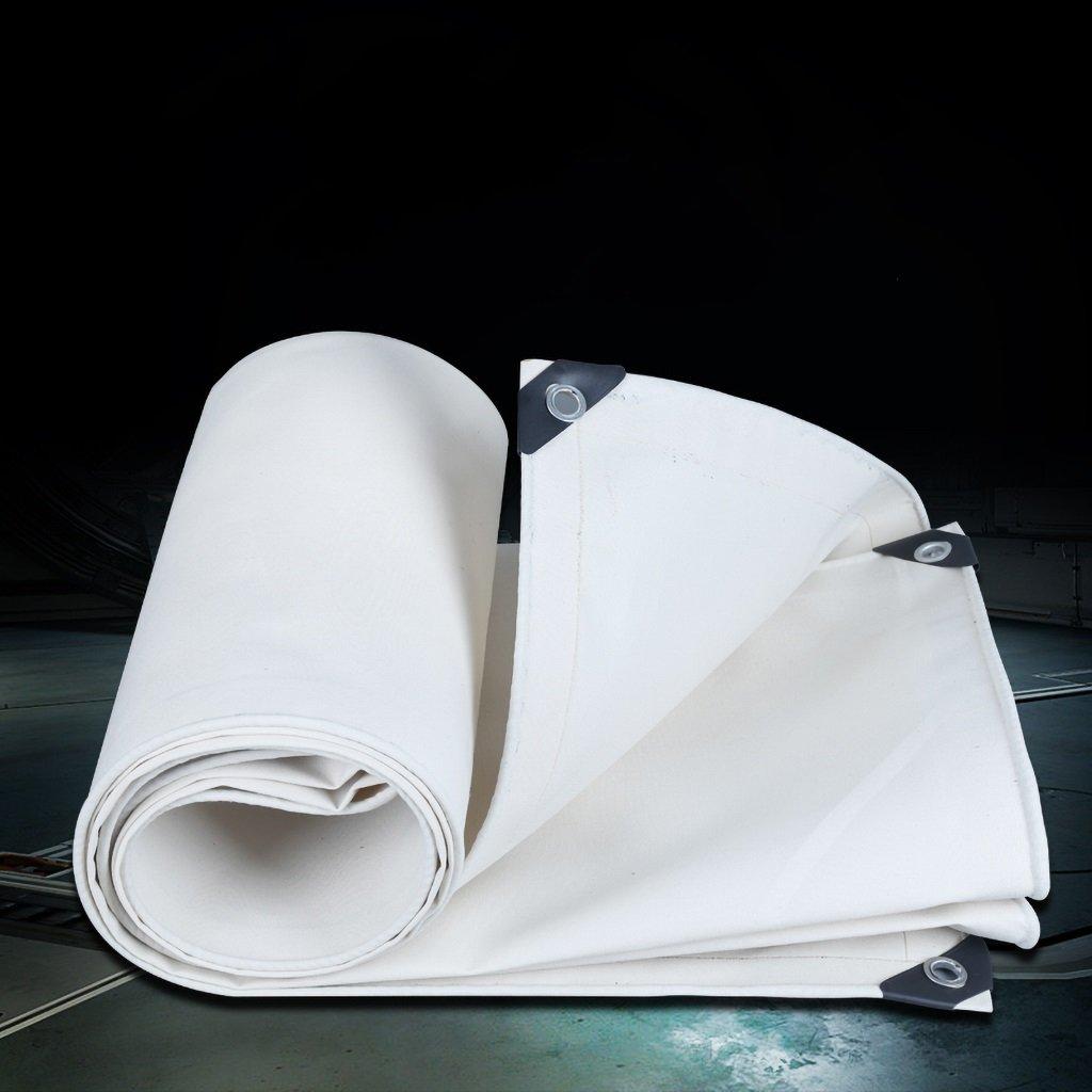 ターポリン キャビン、釣り、ガーデニングのためのターポリンポリウレタン防水ターポリングラウンドシートカバー550g / m2厚さ0.8mm、マルチサイズオプション (Size : 4*6m) B07SGHG9MC  4*6m