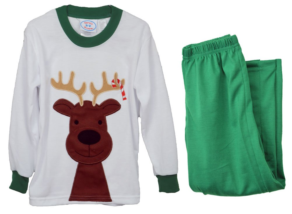 Sara's Prints Reindeer Pajamas