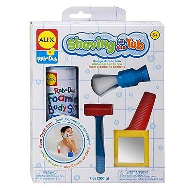 Rub a Dub Shaving in the Tub Shaving Kit: Toys & Games