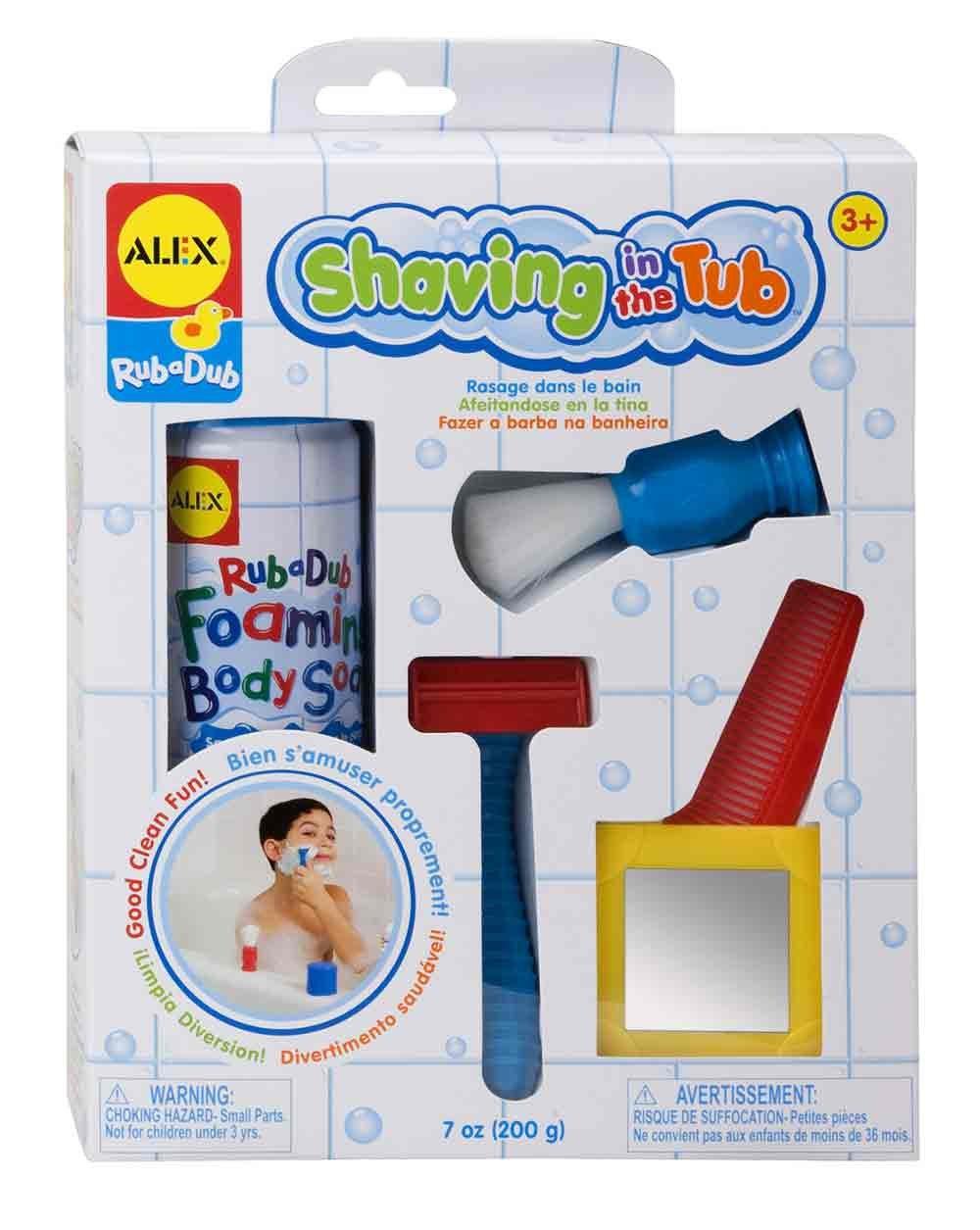 New Alex Toys Kid S Shaving In The Tub Bath Toy Kit Set 5