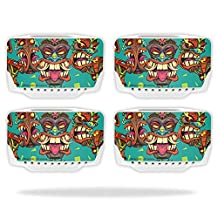 Skin For Blade Chroma Drone Battery (4 pack) – Crazy Tikis | MightySkins Protective, Durable, and Unique Vinyl Decal wrap cover | Easy To Apply, Remove, and Change Styles | Made in the USA