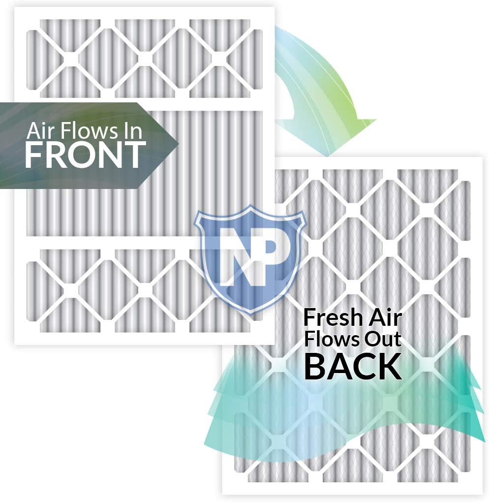 """Nordic Pure 4"""" Furnace Filters"""