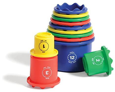 Amazon.com: MEASURE UP! Cups By Discovery Toys: Toys & Games