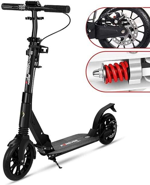 Fswallowhand Scooter eléctrico Patinete Plegable para ...