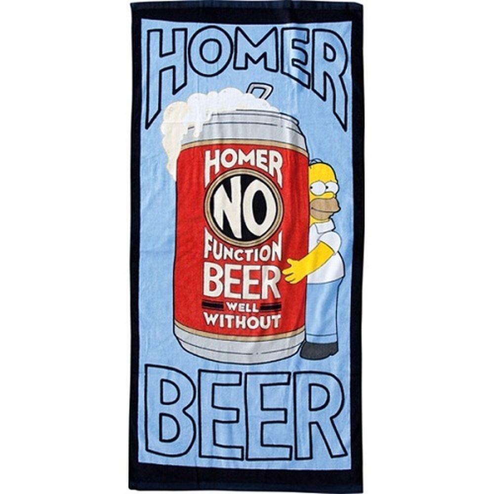 Toalla de baño, diseño de The Simpsons Homer Simpsonhttps://amzn.to/2VTODKQ