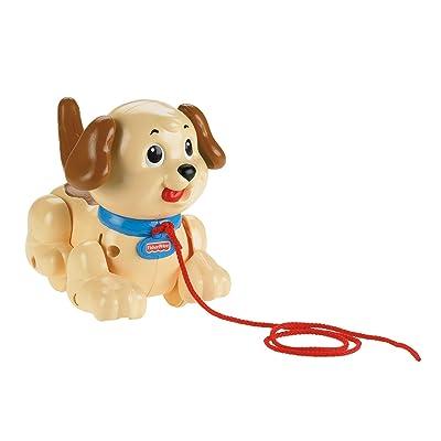 Fisher-Price Pequeño Snoopy, juguete de arrastre y correpasillos +1 año (Mattel H9447)