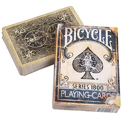 Ellusionist Bicycle 1800 Vintage Series Playing Cards - Blue (Cards Playing Vintage)