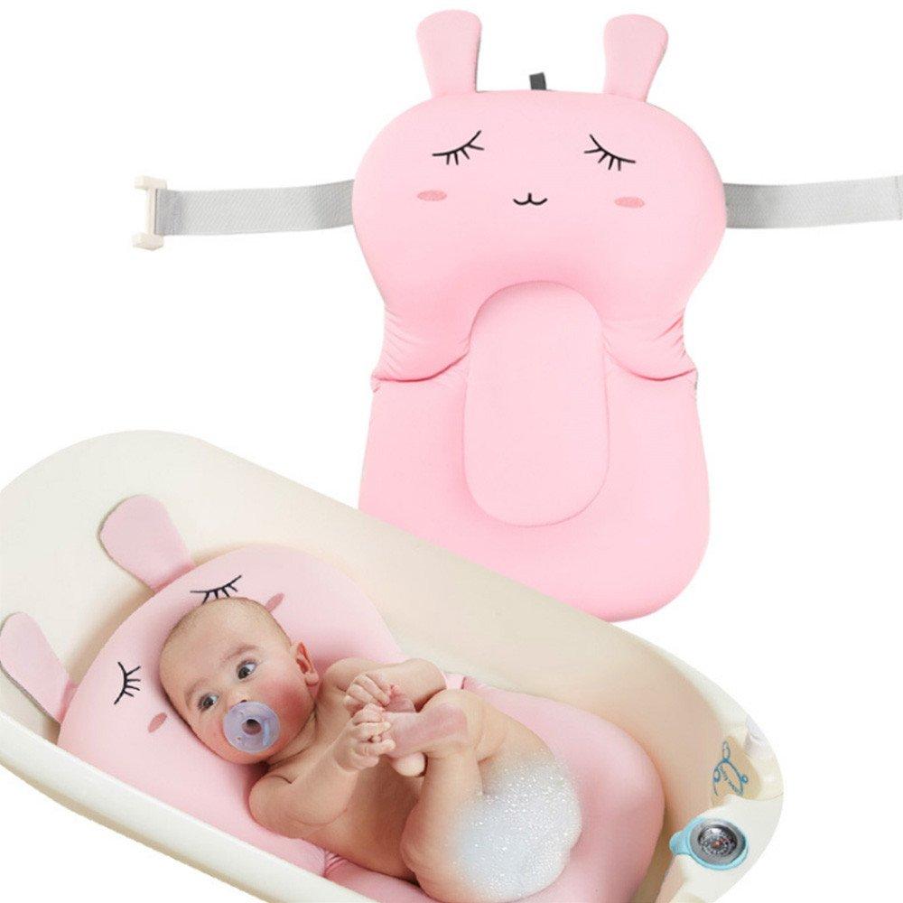 Xueliee Baby-Badekissen-Baby Badematte Neugeborene Badesitz Weich Bad Kissen Bett Schwimmend